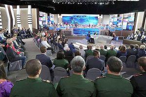 Tổng thống V.Putin sẽ đối thoại trực tuyến với người dân Nga