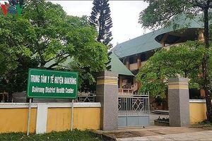 Sai phạm trong công tác quản lý nhiều lãnh đạo TTYT huyện Đakrông bị kỷ luật