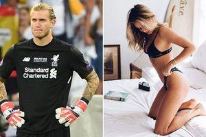 Bạn gái thủ thành Karius từng 'qua lại' với Ronaldo?
