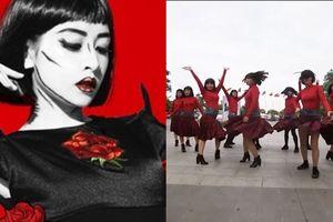 FC Chi Pu gây chấn động khi đem 'vũ điệu ám ảnh' trong MV Đóa Hoa Hồng quẩy ở phố đi bộ