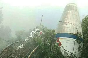 Tưởng là UFO, hóa ra là đầu tên lửa Trung Quốc