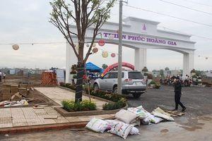 Chấm dứt giao dịch nhiều dự án đất nền 'bán chui' tại Long An