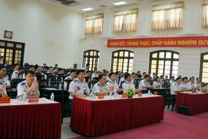 Bộ tư lệnh Cảnh sát biển khai mạc Hội thi cán bộ giảng dạy chính trị năm 2018