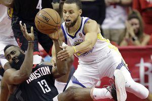 Hạ gục Houston Rockets, Curry hẹn King James ở chung kết NBA