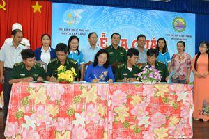 Tây Ninh: Ra quân 'Đồng hành cùng phụ nữ biên cương' tại Tân Châu