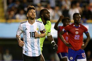 Messi lập hattrick giúp Argentina thêm tự tin dự World Cup