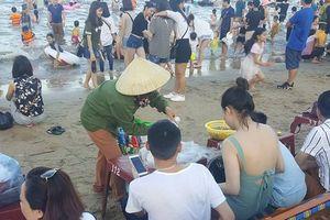Xuất hiện thông tin thu tiền 'bảo kê' hoạt động hàng quán không phép ở Đồ Sơn