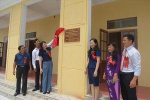 Công đoàn Giáo dục VN khánh thành nhà công vụ giáo viên Trường THCS Thái Thành