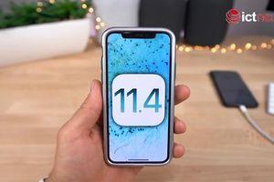 Bản cập nhật iOS 11.4 mới được Apple ra mắt có gì hấp dẫn?