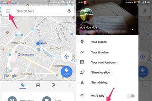 3 mẹo bạn nhất định phải biết khi sử dụng Google Maps