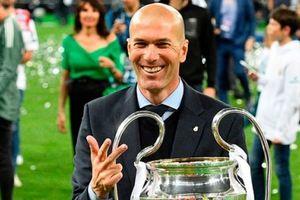 Zidane chính thức từ chức HLV trưởng Real Madrid