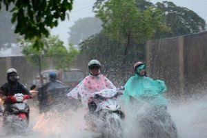 DỰ BÁO THỜI TIẾT (31/5): Miền Bắc chuyển mưa dông, đề phòng tố, lốc và gió giật mạnh