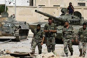 Quân cảnh Syria phát hiện hệ thống đường hầm và kho vũ khí lớn của phe thánh chiến ven Damascus