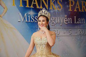'Hoa hậu Doanh nhân người Việt thế giới 2018' Nguyễn Lan Vy tổ chức lễ tri ân ấm áp