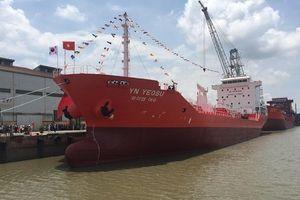 Hải Phòng: Xuất khẩu tàu dầu 6.500 tấn sang Hàn Quốc