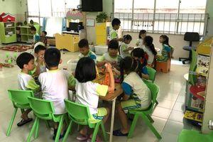 Trường mầm non bế giảng nhưng vẫn có học hè