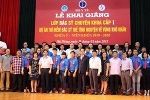 Chọn 25 bác sĩ trẻ tình nguyện về vùng khó khăn