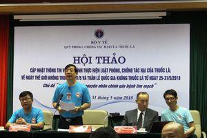 Việt Nam vẫn là một trong những nước hút thuốc lá nhiều nhất thế giới
