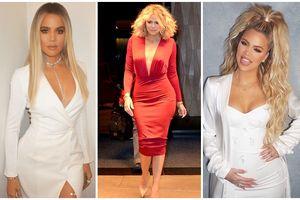 Dù bị bạn trai phản bội ngay khi 'lâm bồn', bà mẹ đơn thân Khloe Kardashian vẫn thon gọn và xinh đẹp