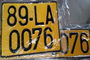 Đề xuất đổi biển taxi sang màu vàng, Bộ Công an nói gì?