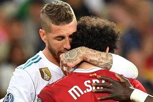 Ramos bị dọa giết sau va chạm với Salah