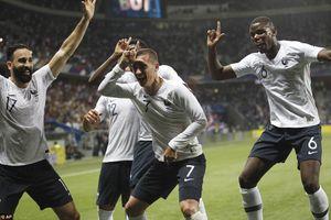 Pháp vùi dập Italia để lộ tham vọng vô địch World Cup 2018