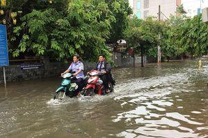 Dân Thảo Điền lại chật vật lội nước sau mưa đêm