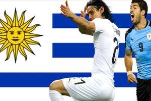 Đủ mặt anh tài trong danh sách 23 tuyển thủ Uruguay chính thức dự World Cup 2018