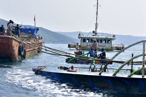 Tháo dỡ tàu du lịch tìm 5 thuyền viên mất tích ở biển Quy Nhơn