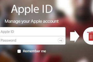 Phải làm gì để xóa tài khoản iCloud của mình?