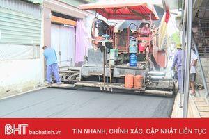 TP Hà Tĩnh: Huy động gần 100 tỷ đồng từ chính sách hỗ trợ đầu tư xây dựng cơ sở hạ tầng