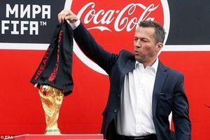 World Cup 2018: Cúp vàng thế giới đã 'cập bến' nước Nga