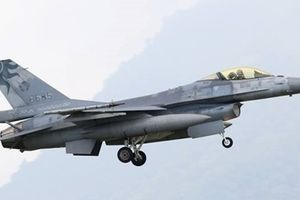 Máy bay chiến đấu F-16 của Đài Loan rơi khi đang tập trận