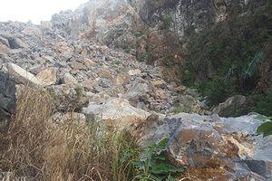 Lạng Sơn: Tiềm ẩn nguy hiểm đá lăn từ mỏ khai thác