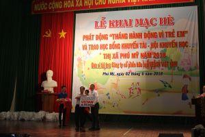 Vedan Việt Nam trao học bổng Khuyến Học – Khuyến tài cho học sinh nghèo hiếu học