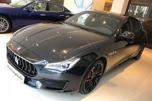 Maserati Quattroporte Nerissimo Edition hàng hiếm về Việt Nam