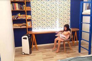 Để trẻ tận hưởng không khí tự nhiên ngay trong nhà