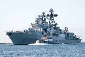 Dàn hỏa lực diệt tàu ngầm trên chiến hạm Nga đang thăm Việt Nam