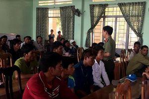 Ngăn chặn 150 trai làng kéo nhau đi hỗn chiến