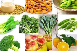 Những siêu thực phẩm giàu canxi hơn sữa giúp xương chắc khỏe và tăng chiều cao