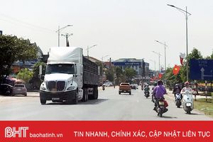 Cần hạn chế xe trọng tải lớn vào trung tâm thị xã Kỳ Anh