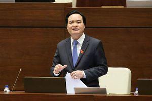 ĐBQH hỏi Bộ trưởng Nhạ về chuẩn 'phát âm' ngành sư phạm