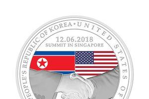 Singapore ra mắt huy chương kỷ niệm thượng đỉnh Mỹ - Triều