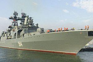 Hải quân Nga - Việt diễn tập chung trên Biển Đông