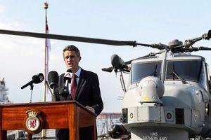 Sau Mỹ, Châu Âu đưa tàu chiến tới Biển Đông vì tự do hàng hải