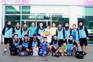 Các đội bóng đã có mặt tại thị xã Cửa Lò - Nghệ An, sẵn sàng cho VCK Press Cup 2018