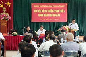Lịch tiếp xúc cử tri của đại biểu HĐND TP Hà Nội trước kỳ họp thứ 6 HĐND TP khóa XV