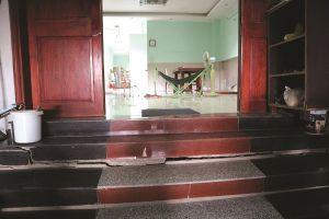 Nhà thầu Trung Nam thi công gây hư hại nhà dân xung quanh