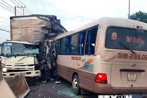 Đồng Nai điều tra vụ tai nạn khiến 18 người bị thương trên Quốc lộ 20