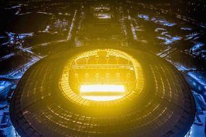 Toàn cảnh sân vận động diễn ra trận khai mạc World Cup 2018